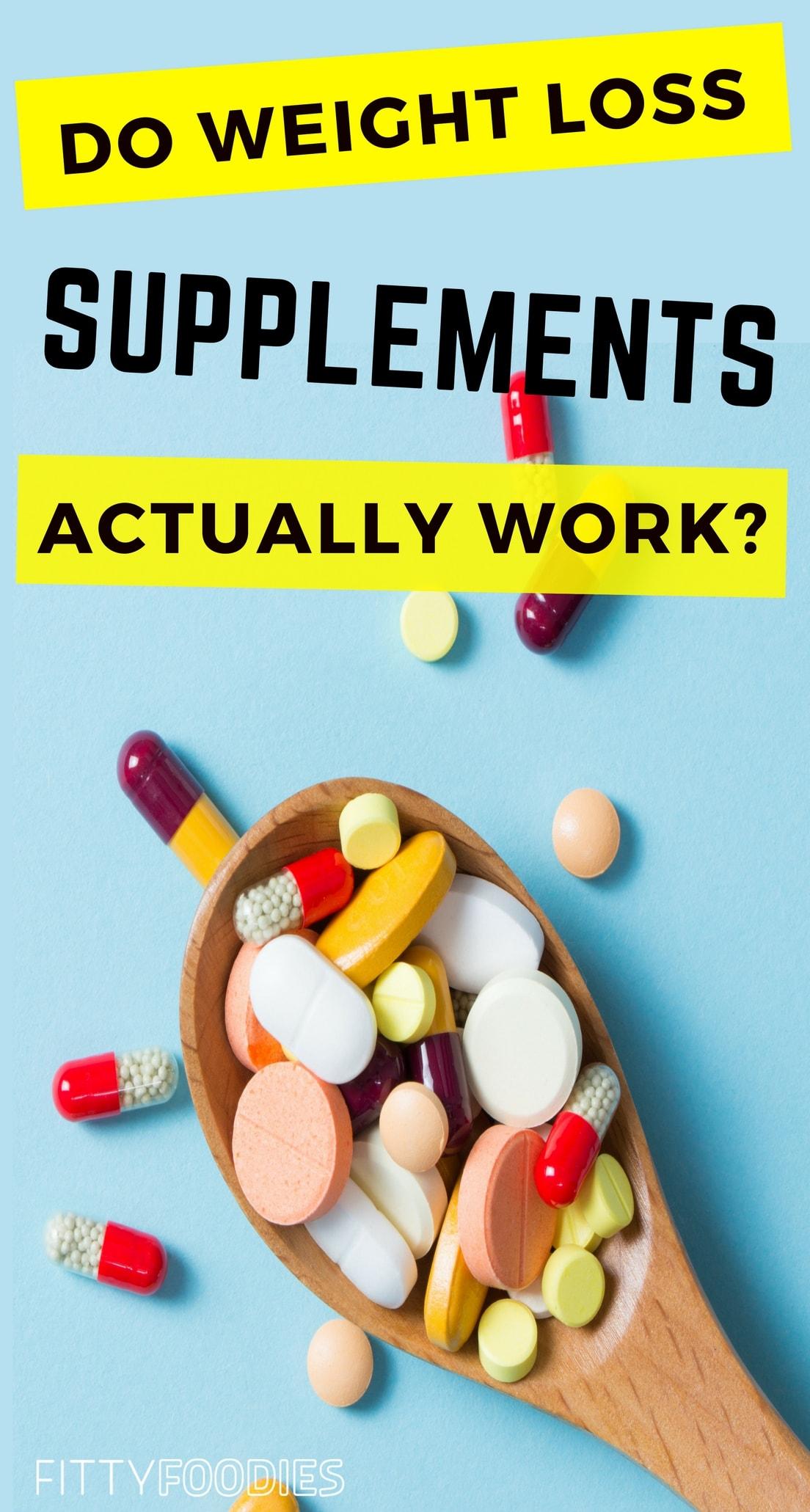 Supplements work